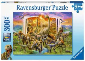 Puzzle Cartea Dinozaurilor, 300 Piese