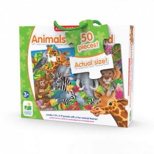 Puzzle Mare De Podea - Animalele Lumii