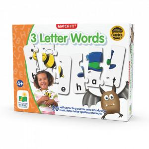 Puzzle Potriveste Cuvintele Din 3 Litere - Eng