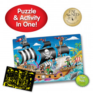 Puzzle Straluceste In Intuneric - Barca Piratilor