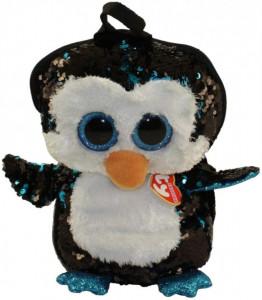 Rucsac De Plus Ty Cu Paiete Pinguinul Waddles