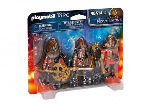 Set 3 Figurine Playmobil Banditi Burnham