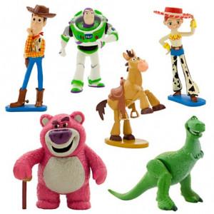 Set 6 figurine Toy story