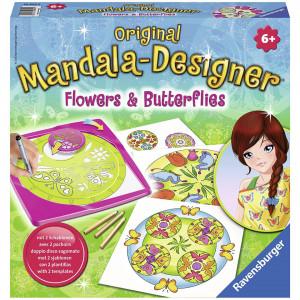 Set De Creatie Mandala Flori Si Fluturi