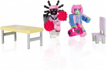 Set de joaca cu 2 figurine Roblox, model Enchanted Academy
