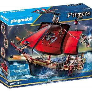 Set de joaca Playmobil, Corabia De Lupta A Piratilor
