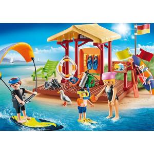 Set de joaca Playmobil Family Fun, Lectii De Sporturi Nautice