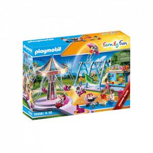 Set de joaca Playmobil Parc De Distractii