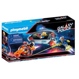 Set de joaca Playmobil, Planorul Politiei Galactice