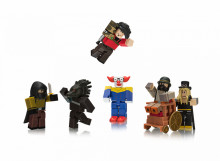 Set de joaca Roblox cu 6 Figurine, model Night Of The Werewolf