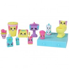 Set decoratiuni Shopkins BATHING BUNNY