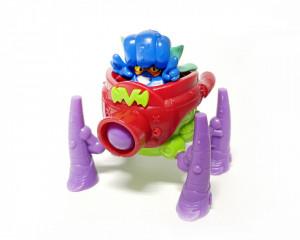 Superzings 3 Superbot Spider Cannon Verde
