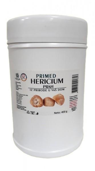 Slika PRIMED Hericium erinaceus prah 400g