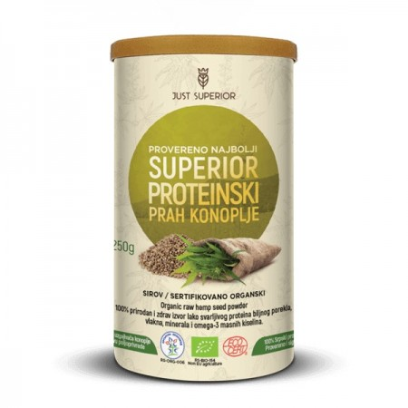 Slika Proteinski prah konoplje - Just Superior 250g