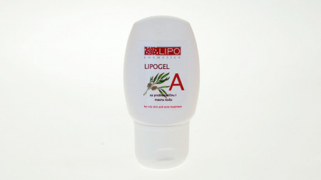 LIPO Lipogel A - za negu masne i aknozne kože 50ml