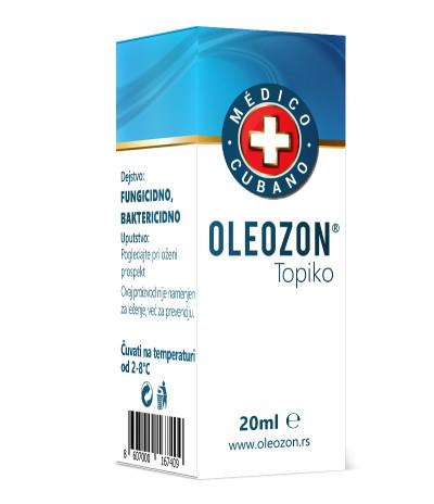Oleozon Topiko Medico Cubano
