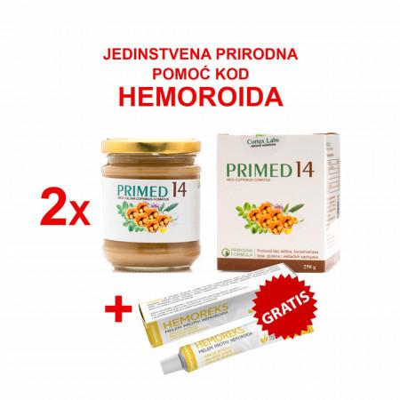 PRIMED 14 x 2 KOMADA + HEMOREKS TUBA GRATIS