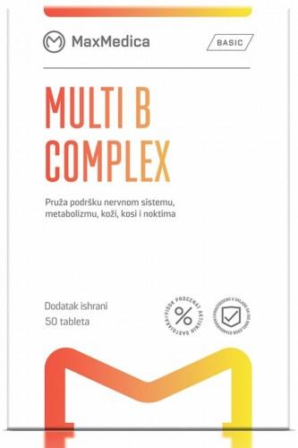Slika MaxMedica Multi B Complex