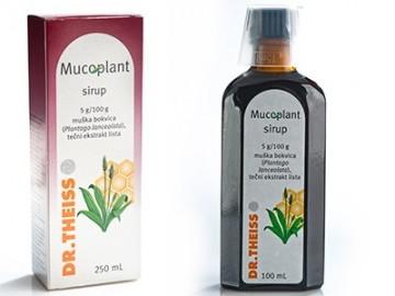 Slika Mucoplant sirup za kašalj od bokvice