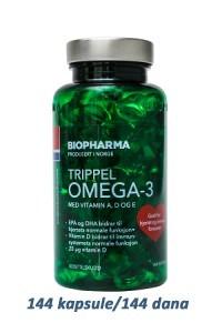 Slika BIOPHARMA Norveške Omega-3 kapsule