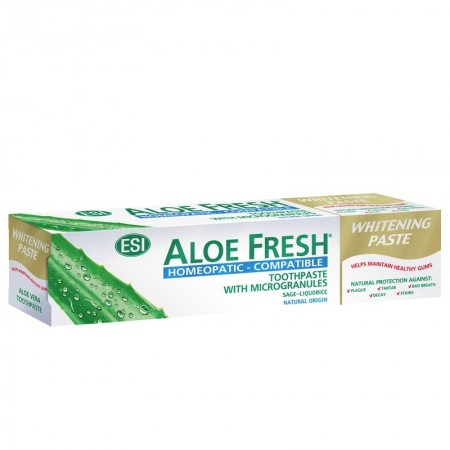 Slika ESI ALOE FRESH Whitening - Homeopathic compatible