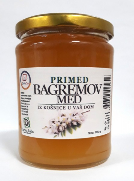 Slika PRIMED Bagremov med 700g