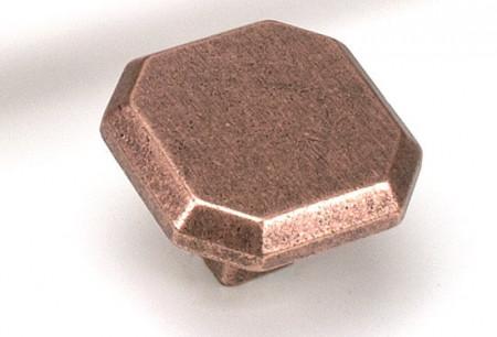 Buton mobila WPO75 C1 cupru antichizat Giusti