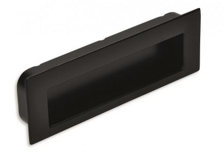 Maner ingropat mobila 2382-112PB12 negru 96mm Siro