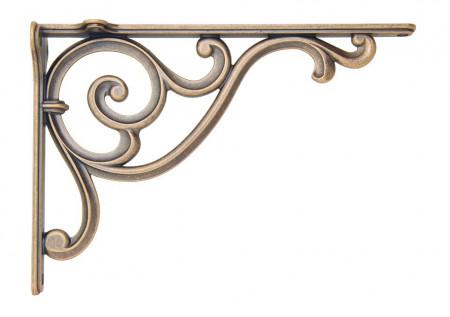 Suport polita WRM800.200.00AB 200x140 antique brass Giusti