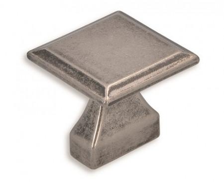 Buton mobila 2439-32ZN28 argint antic Siro