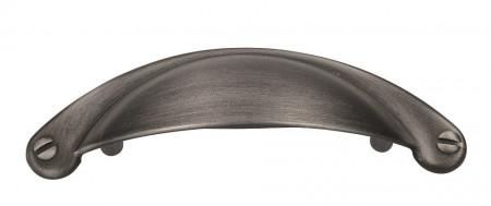 Maner mobila scoica 1761-103ZN75 64mm otel periat Siro