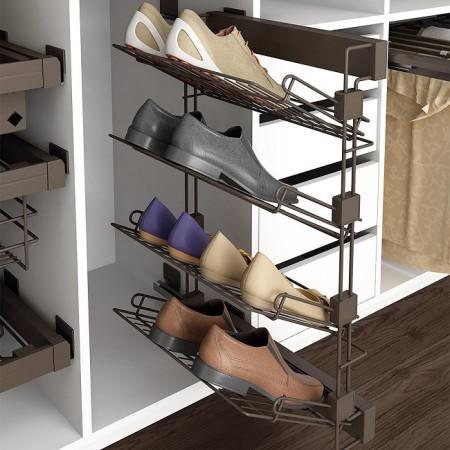 Accesorii dressing suport pantofi lateral dreapta Moka