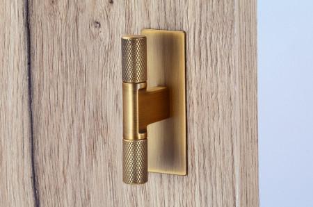 Placuta decorativa buton 2511-72ZN79 alama periata Siro