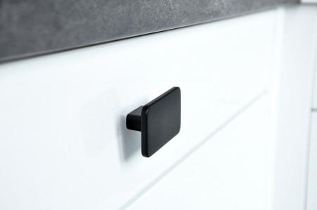 Buton mobilier 2411-58PB12 negru mat Siro