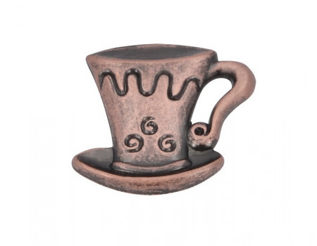 Buton mobila 1058-40ZN24 cescuta cupru antic SiroSiro