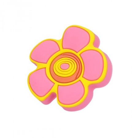 Buton mobila copii H149-44RU5 floare roz Siro