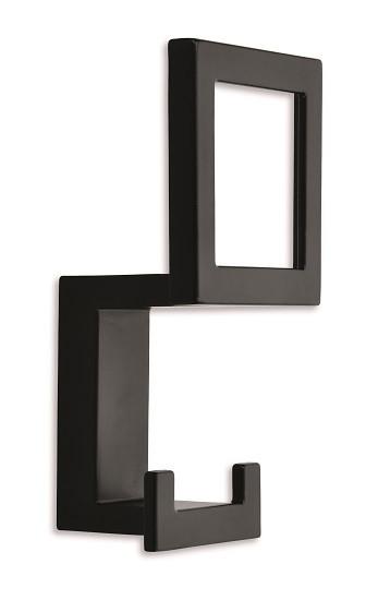 Cuier Siro 2434/PB12 negru mat