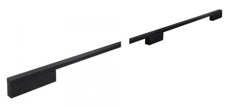 Maner mobila 2110-908AL74 negru periat Siro