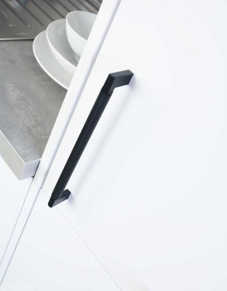 Maner mobiler bucatarie 2457-206PB12 negru mat Siro
