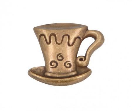 Buton mobila 1058-40ZN10 bronz antic Siro