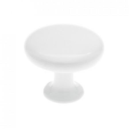 Buton mobila 1324-31PB1 alb Siro