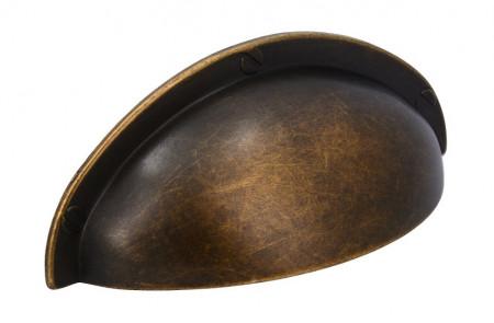 Maner mobila scoica 1760-85ZN10 bronz antic 64mm Siro