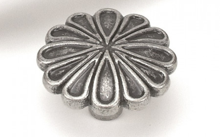 Buton mobila WPO742 E8 argento vechio Giusti