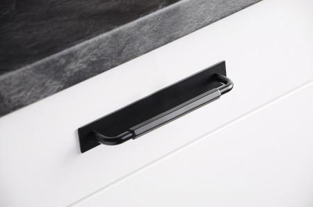 Manere mobila bucatarie 2482-168PB12 negru mat Siro