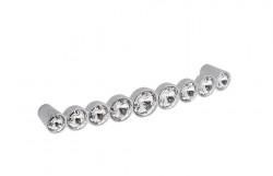 Maner mobila WMN633 KR02 crom lucios cristale Swarovski Giusti Italia