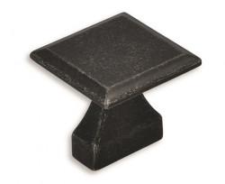 Buton mobila 2439-32ZN78 negru vintage Siro