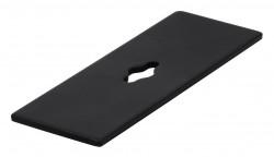 Placuta decorativa 2511-72PB12 negru mat Siro