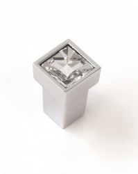 Buton mobila WPO550.000.KR02 crom lucios cristale Swarovski Giusti