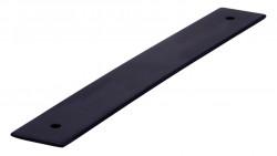 Placuta decorativa 2491-190PB12 negru mat Siro
