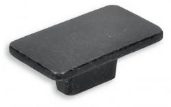 Buton mobila 2411-58ZN78 negru vintage Siro